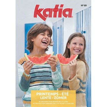 Catalogue Katia Enfants n° 89 Printemps/Eté 2019