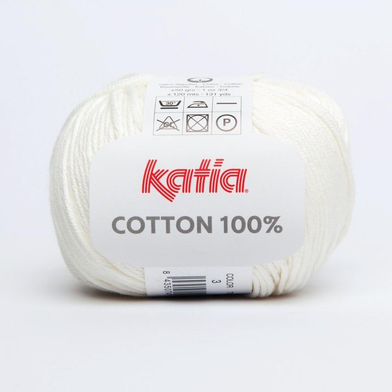 Cotton 100% - 3 Coton Katia