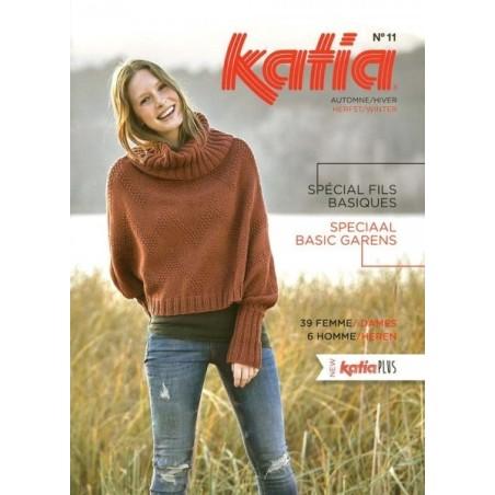 Catalogue Katia Fils Basiques N° 11
