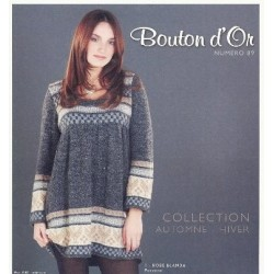 Catalogue Bouton d'Or n° 89 Automne / Hiver 2008 / 2009