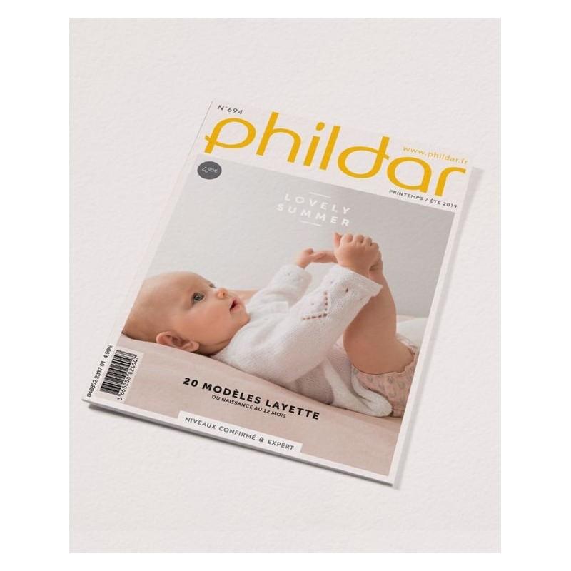 Catalogue Phildar Layette n° 694 Eté 2019