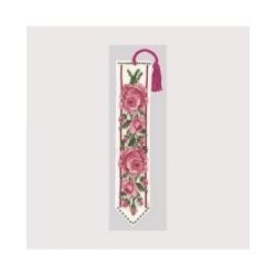 Marque page Roses Roses Le Bonheur des Dames
