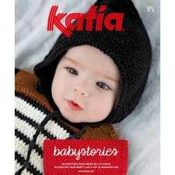 Catalogue Katia Layette Babystories n° 6 Hiver - 2019 / 2020