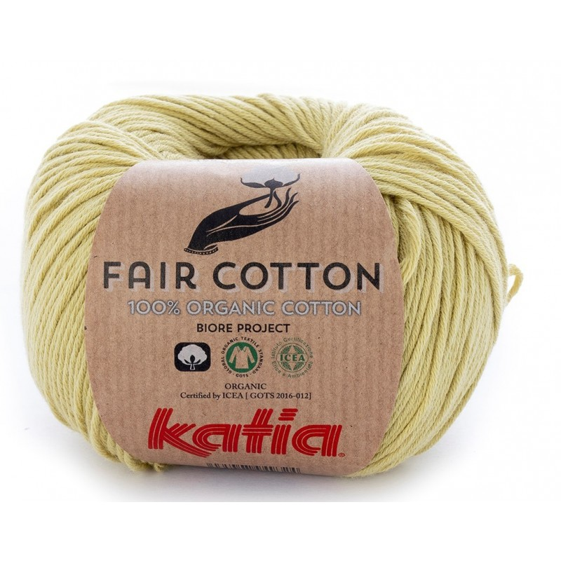 Coton Katia FAIR COTTON 34