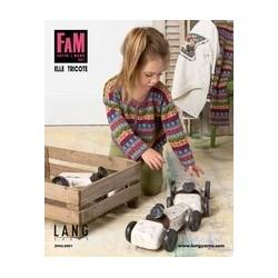 """Catalogue Lang Yarns """"Elle tricote"""" n° 241 Hiver - 2018 / 2019"""