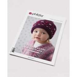Catalogue Phildar n°698 - Tricot Faciles Enfant - Hiver 2019 - 2020