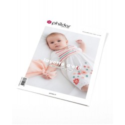 Catalogue Phildar Layette n° 700 Eté 2020