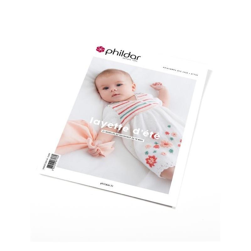 Catalogue Phildar Layette n° 700 Eté 2020