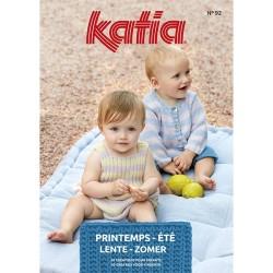 Catalogue Katia Layette n° 92 Printemps / Eté 2020