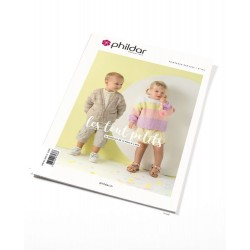 Catalogue n°184 Phildar Layette - Les Tout Petis - Eté 2020
