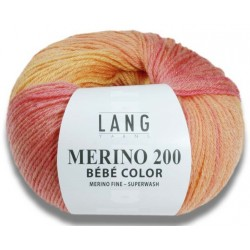 Mérino 200 Bébé Color Laine Lang Yarns