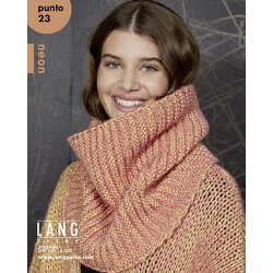 Catalogue Lang Yarns Punto / Néon n°23 Automne / Hiver 2020-2021