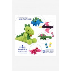 Book n°2 Crochet Happy Chenille Dinosaures