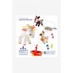 Book n°1 Crochet Happy Chenille Animaux Fantastiques