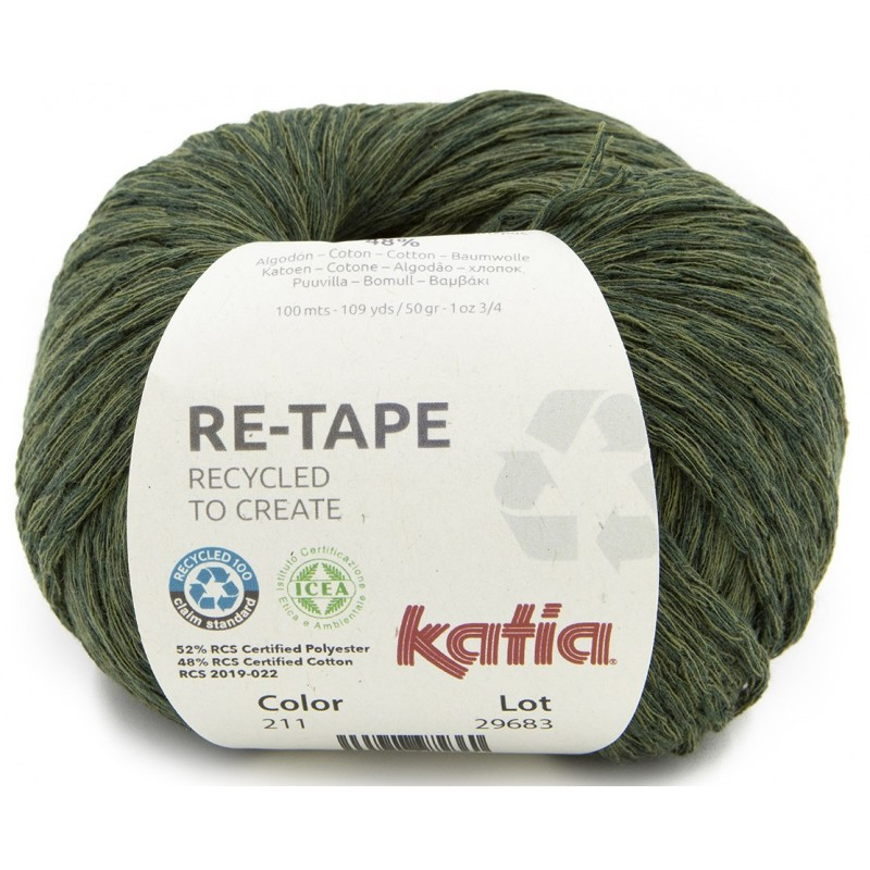 Coton Katia Re-Tape 211