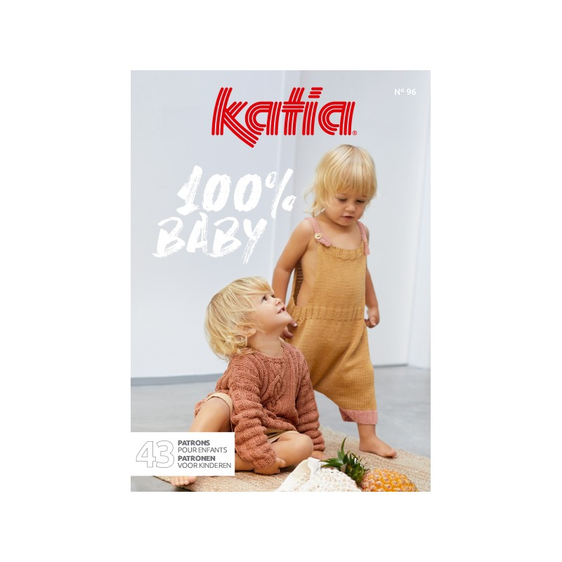 Catalogue Katia 100% Baby n° 96 Eté - 2021