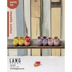 Catalogue Lang Yarns n° 25 Punto Layette Cotton - P/E 21