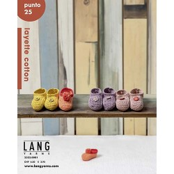 Catalogue Lang Yarns n° 25 Punto Layette Cotton - P/E 21