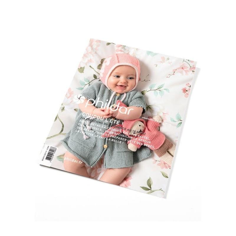 Catalogue Phildar n° 196 Printemps/Eté - 2021- Coucou l'été