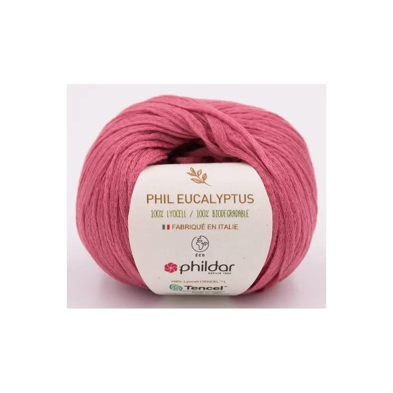 Coton Phildar Phil Eucalyptus Rose des Sables