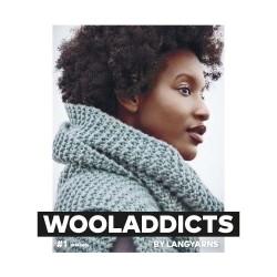 Catalogue Lang Yarns WoolAddicts n° 1 Hiver - 2018 / 2019