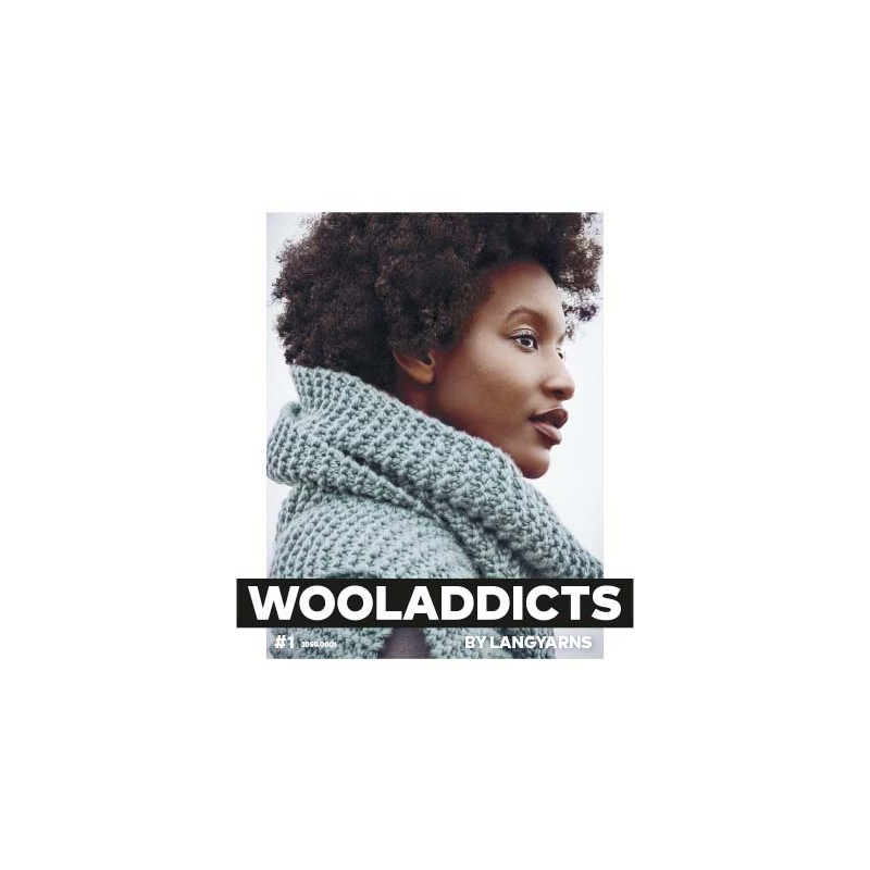 Catalogue Lang Yarns WoolAddicts n° 1 Hiver - 2018 / 2019