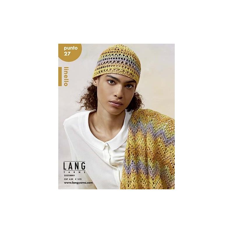 Catalogue Lang Yarns N°27 Punto Linello - P/E 2021