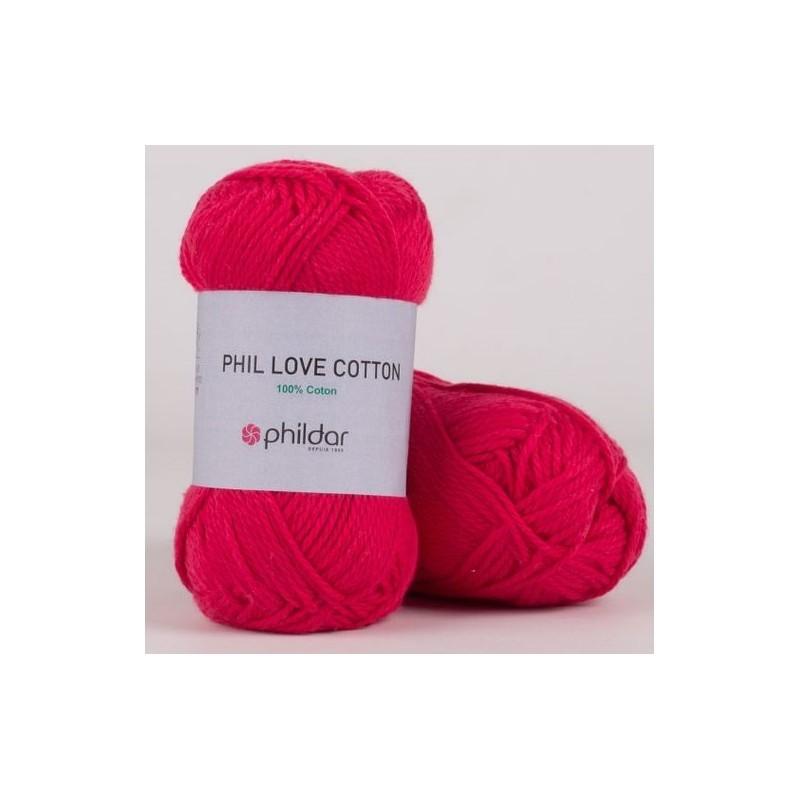 Coton Phildar Phil Love Cotton Fushia