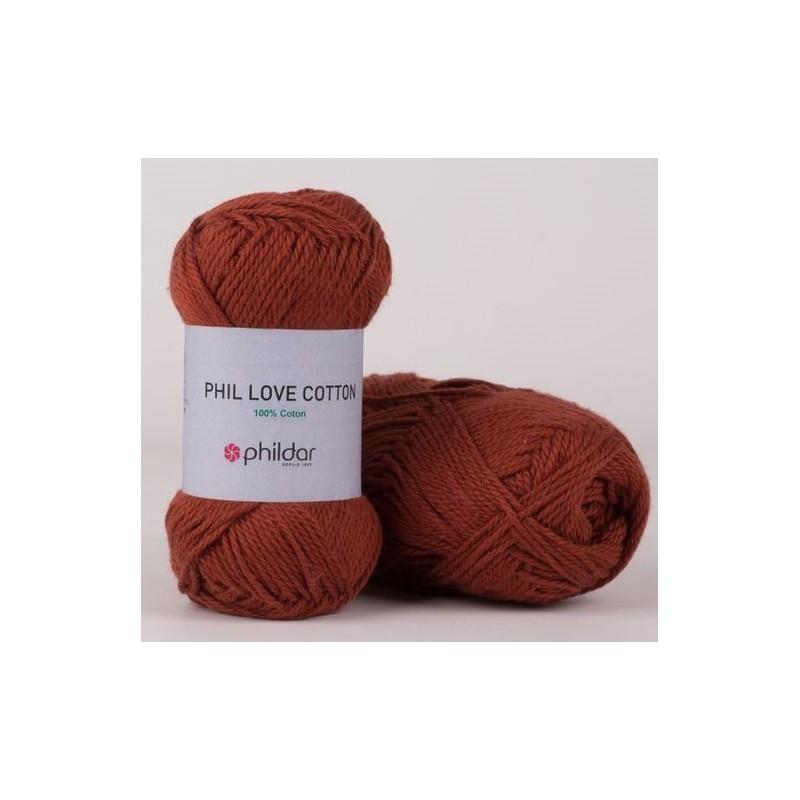 Coton Phildar Phil Love Cotton Havane