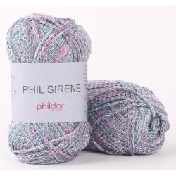 Coton Phildar Phil Sirène Aqua