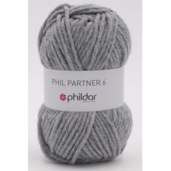 Laine Phildar Phil Partner 6 Acier