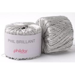 Laine Phildar Phil Brillant Argent