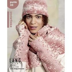 Catalogue Lang Yarns N°33 Punto Snow Flake - Automne / Hiver 2021 / 2022