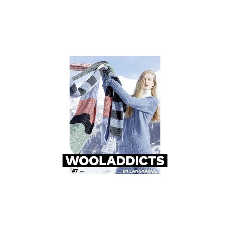 Catalogue Lang Yarns WoolAddicts N°7 - Automne / Hiver 2021 / 2022