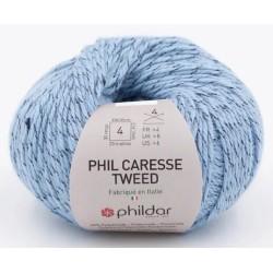 Laine Phildar PHIL CARESSE TWEED Denim