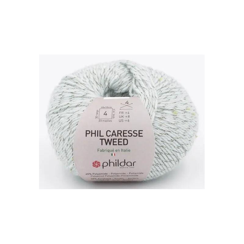 Laine Phildar PHIL CARESSE TWEED Jade