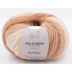 Laine Phildar PHIL GLAMOUR Naturel
