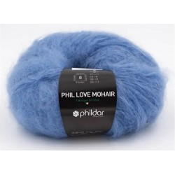 Laine Phildar PHIL LOVE MOHAIR Faïence