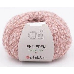 Laine Phildar PHIL EDEN Rose Thé