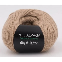 Laine Phildar PHIL ALPAGA Camel