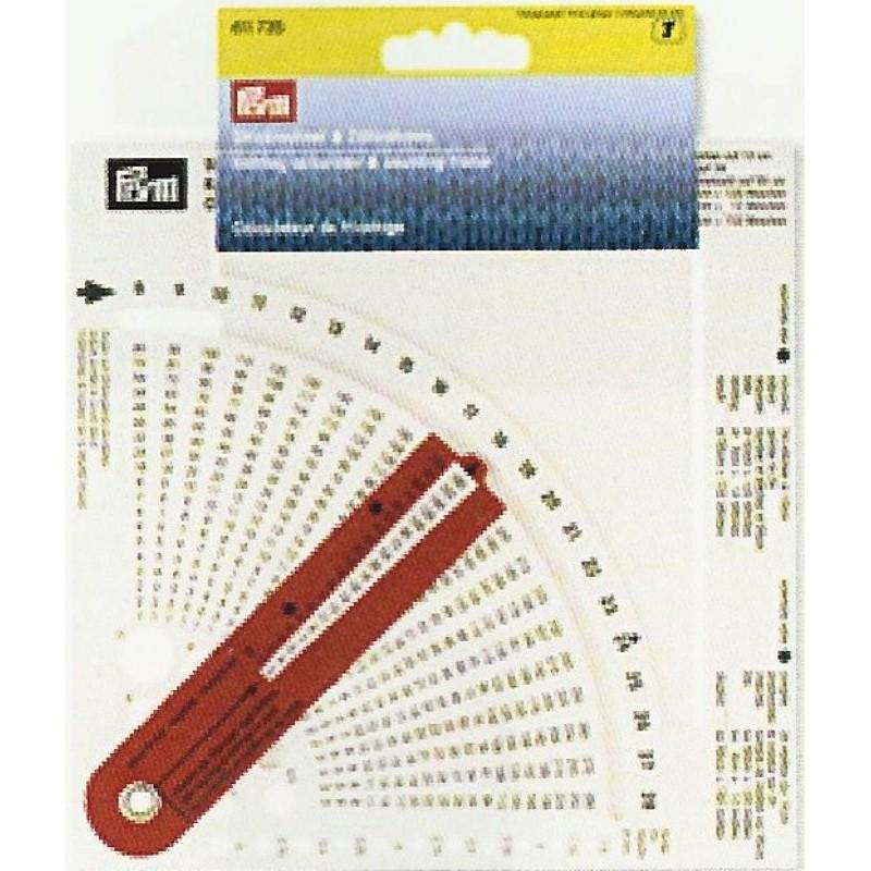 Calculateur de tricotage Prym 611735