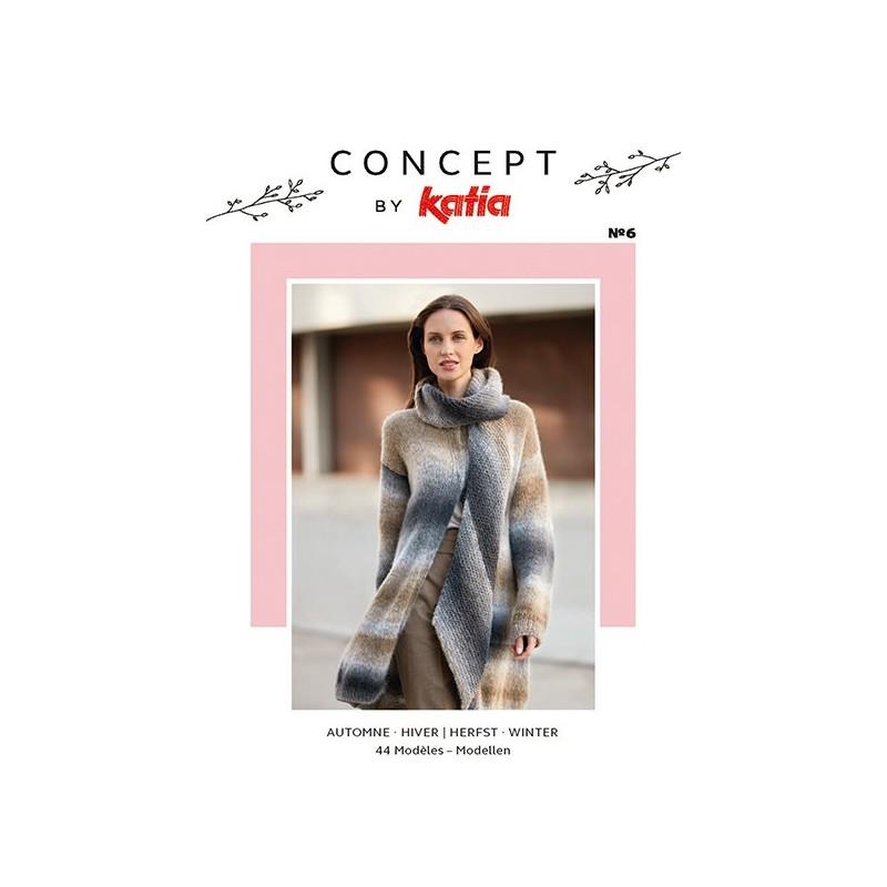 Catalogue Katia Concept n° 6 Hiver - 2017 / 2018