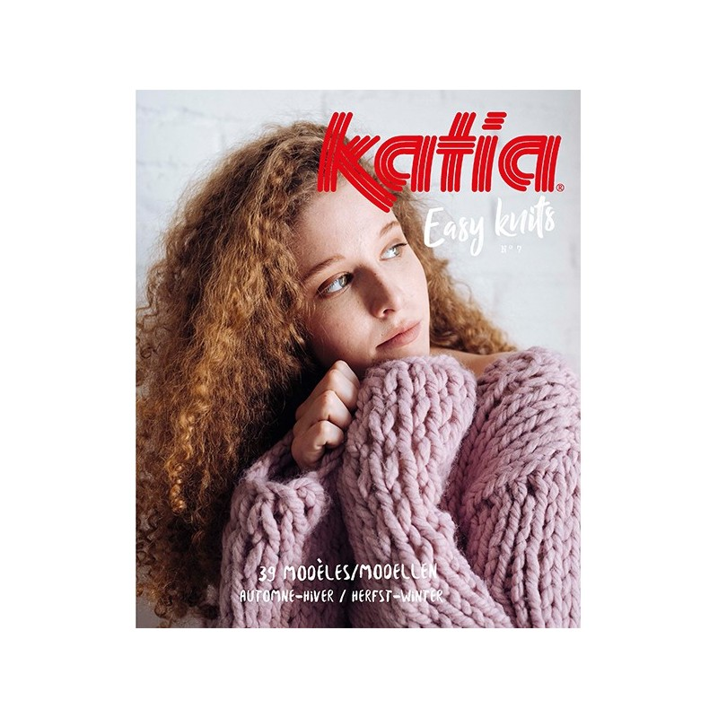 Catalogue Katia Easy Knits n° 7 Hiver - 2017 / 2018